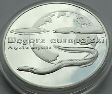 20 ZL ZLOTYCH POLAND POLEN 2003 European Eel