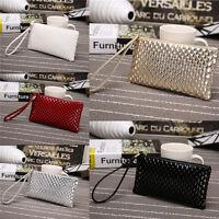 Fashion Lady Women PU Leather Clutch Wallet Long Card Holder Case Purse Handbag