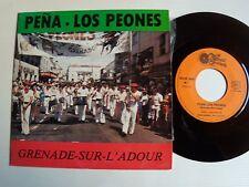 """LOS PEONES, peña Grenade Adour: Avila, folklore Basque 7"""" EP KO / 81.0504 Landes"""