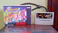 Super Bomberman 2 for the Japan Import Nintendo Super Famicom System w Repro Cas