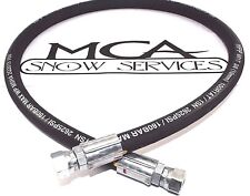 """WESTERN FISHER SNOW PLOW HOSE MVP 3/8 X 38"""" FJIC ENDS 44351 44315"""