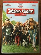 Asterix and Obelix Take on Caesar DVD 1999 French Movie w/ Gerard Depardieu