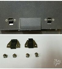 SONY TC260 TAPECORDER REEL TO REEL TAPE RECORDER ACCESS DOOR LATCHES