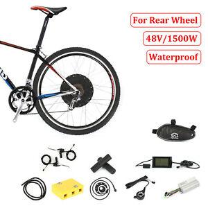 "48V1500W Voilamart Rear Electric Bicycle E-Bike Wheel Conversion Kit 26"" Clying"