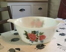 Vintage JAJ Pyrex Cottage Rose Serving/casserole Dish