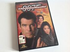 IL DOMANI NON MUORE MAI Edizione Warner James Bond Pierce Brosnam DVD