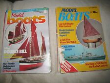 20 Assorted issues of Model Boats 1984 through 1993