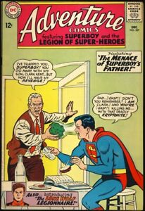 ADVENTURE COMICS #327 1964 VF 1ST APPEARANCE TIMBER WOLF Legion Of Super-Heroes