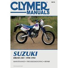 Clymer Service Manual Maintenance Repair Book M476 Suzuki DR 250-350 1990-1994