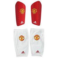 Manchester United Real Madrid Pro Lite Shinguards Red Unisex adidas