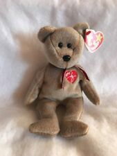 TY Beanie Baby 1999 Signature Bear Beanie Baby Tag Errors Rare