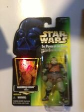 Guardia Gamorrean Star Wars Potf (Holograma) tarjeta verde