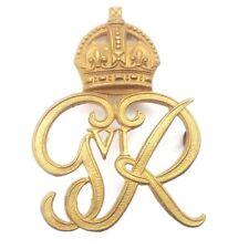 Norfolk Yeomanry GVI Cap Badge Authentic VGC Complete Undamaged