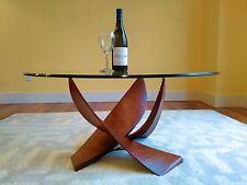 "Gorgeous Handmade Hardwood Coffee Table - 36"" - Handmade, Solid Mahogany"