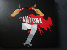 Eric Cantona Manchester United Handpainted Football Canvas