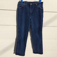 Wrangler Jeans Cowboy Blue 947STR Mens Tag 36 X 32 Measures 34 x 32