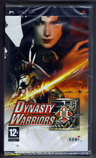 PSP Dynasty Warriors (2008) UK Pal, Brand New & Sony Factory Sealed