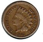 KAPPYSCOINS W6993 1863 FINE  CIVIL WAR USED AND DATED  INDIAN HEAD CENT  for sale