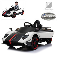 Pagani Zonda R 12V Kids Electric Ride On Car with Remote Control and Pull Handle