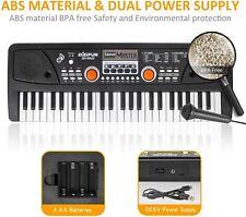 49 Key Music Keyboard Piano Portable Electronic Keyboard Piano with Microphone f