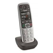 Gigaset E 560 HX platin Premium-Großtastentelefon  (DECT) - große Ziffernanzeige