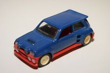> SOLIDO RENAULT 5 TURBO MAXI BLUE EXCELLENT CONDITION