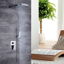 Unterputz-Duscharmatur System Thermostat Kopfbrause Handbrause Duschsystem DE