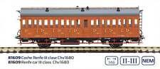 Vagón de madera Renfe III clase Chv1680 Ep.ii-iii H0 Mabar