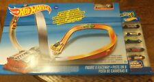 Hot Wheels - Motorised - Figure 8 Raceway With 6 Cars - Childs Playset - Ages 5+