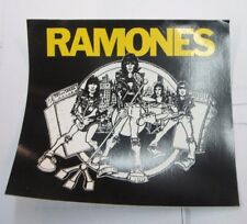 Ramones Sticker Collectible Rare 90'S Vintage Metal Window Decal
