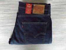 Men's Levi Strauss & Co. 512 Slim Tapered Blue Jeans W36 L34 BNWT