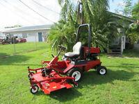 "Toro Groundsmaster 328D 72"" Rotary Lawn Mower 2 Wheel Drive 718 hrs Heavy Duty"