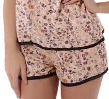 L (14) Freya 4830 Piper Pantalon Court Pantalon Nightwear pyjama PJ Multi