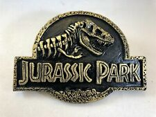 Jurassic Park Dinosaur Door Plaque Movie Prop Replica