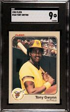 1983 FLEER TONY GWYNN ROOKIE CARD #360 SAN DIEGO PADRES SGC 9=MINT--BEAUTIFUL!!!