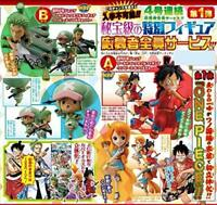 One Piece WCF World Collectable figure Wano Country 4 set luffy nami zoro JAPAN