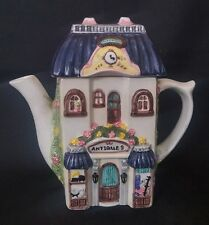 Antiques Shop Teapot Leonardo Collectable 7 Inch (#2) | FREE Delivery UK*