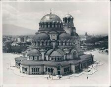 1931 Alexander Nevsky Cathedral Sofia Bulgaria Press Photo