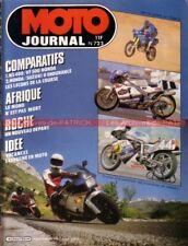 MOTO JOURNAL  723 Essai Test SUZUKI GSX-R 750 HONDA RVF NS 400 VF 500 CR 80 250