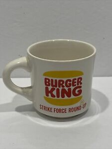 Vintage Burger King Strike Force Round Up BSA North Florida Council Coffee Mug