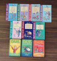 Roald Dahl 10 Paperback Book Bundle including 3 Play Versions