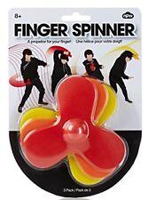 3 FINGER FIDGET SPINNER TOYS FOAM PROPELLER TOY FOR TRICKS SKILL STOCKING FILLER