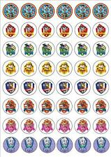48 Paw Patrol Cupcake Toppers Edible Wafer Paper BUY 2 GET 3RD FREE