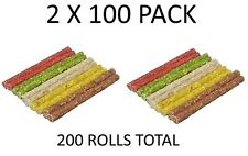 Munchy Dog Chews Assorted Colours Pack 100