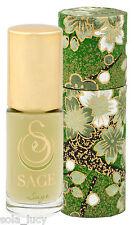 SAGE MACHADO SAGE Roll-on Perfume Essential Oil Fragrance 1/8 ounces NEW IN BOX