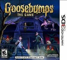 Goosebumps: The Game USED SEALED Nintendo 3DS 3 DS 2 2DS