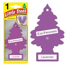 Little Tree Scented Hanging Air Freshener for Car & Home - Purple Lavender Scent