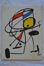 Exposition Miro et Llorens Artigas - Fondation Maeght - 1973