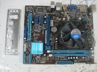 ASUS Motherboard P8H61-M LE/CSM REV 3.00 No CPU W/ IO Shield