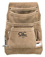 Clc Nail and Tool Pouch w/ Hammer Loop, Leather, I923X